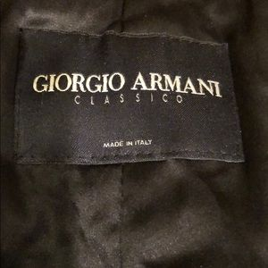GIORGIO ARMANI ZIP UP JACKET. NICE! Sz 38